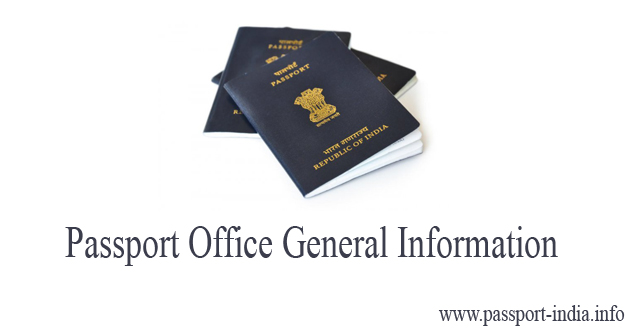 Passport Office Shalimar Place